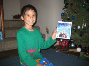Ryan's Christmas gift (photo by Wendy Kennar)