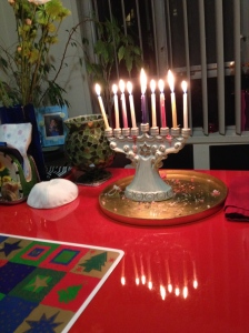 menorah (photo by Wendy Kennar)