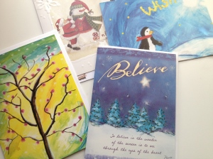 holiday cards (photo by Wendy Kennar)