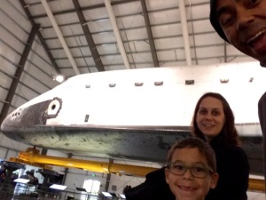 family picture with Endeavour