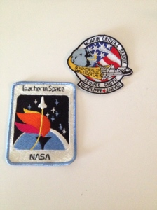 Challenger patches (photo by Wendy Kennar)