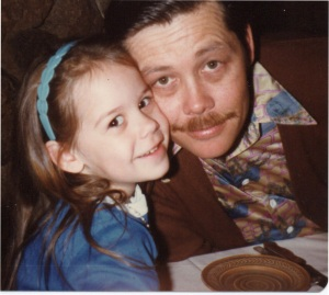 Daddy and me (4 yrs old)