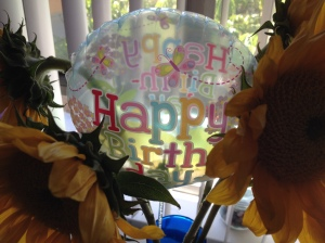 birthday balloon (photo by Wendy Kennar)