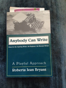 Anybody can write (photo by Wendy Kennar)