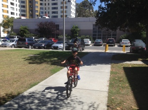bike riding (photo by Wendy Kennar)