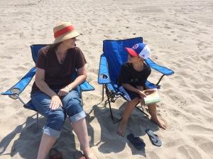 at the beach (photo by Paul Kennar)