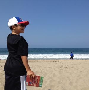 at the beach (photo by Wendy Kennar)