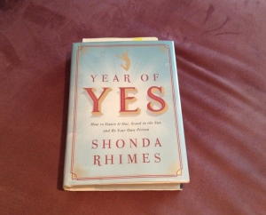 year of yes book (photo by Wendy Kennar)