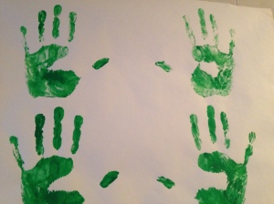 handprints (photo by Wendy Kennar)