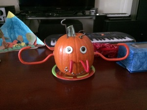 Melvin the pumpkin (photo by Wendy Kennar)