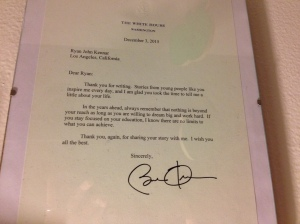 letter from the President (photo by Wendy Kennar)