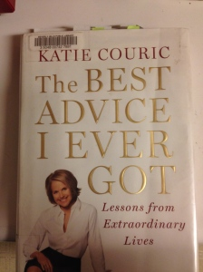 Katie Couric book (photo by Wendy Kennar)
