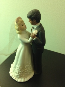 wedding cake topper (photo by Wendy Kennar)